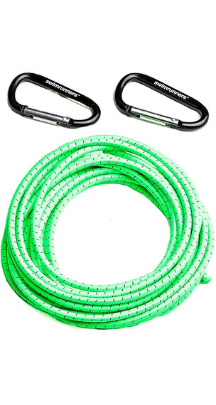 """Swimmrunners Support Pull Belt Cord DIY 5m Neon Green"""